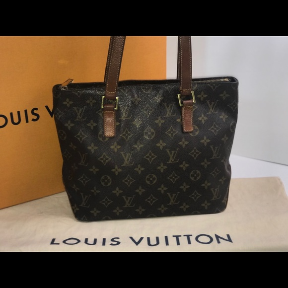 Louis Vuitton Handbags - Authentic Louis Vuitton cabas piano shopper tote